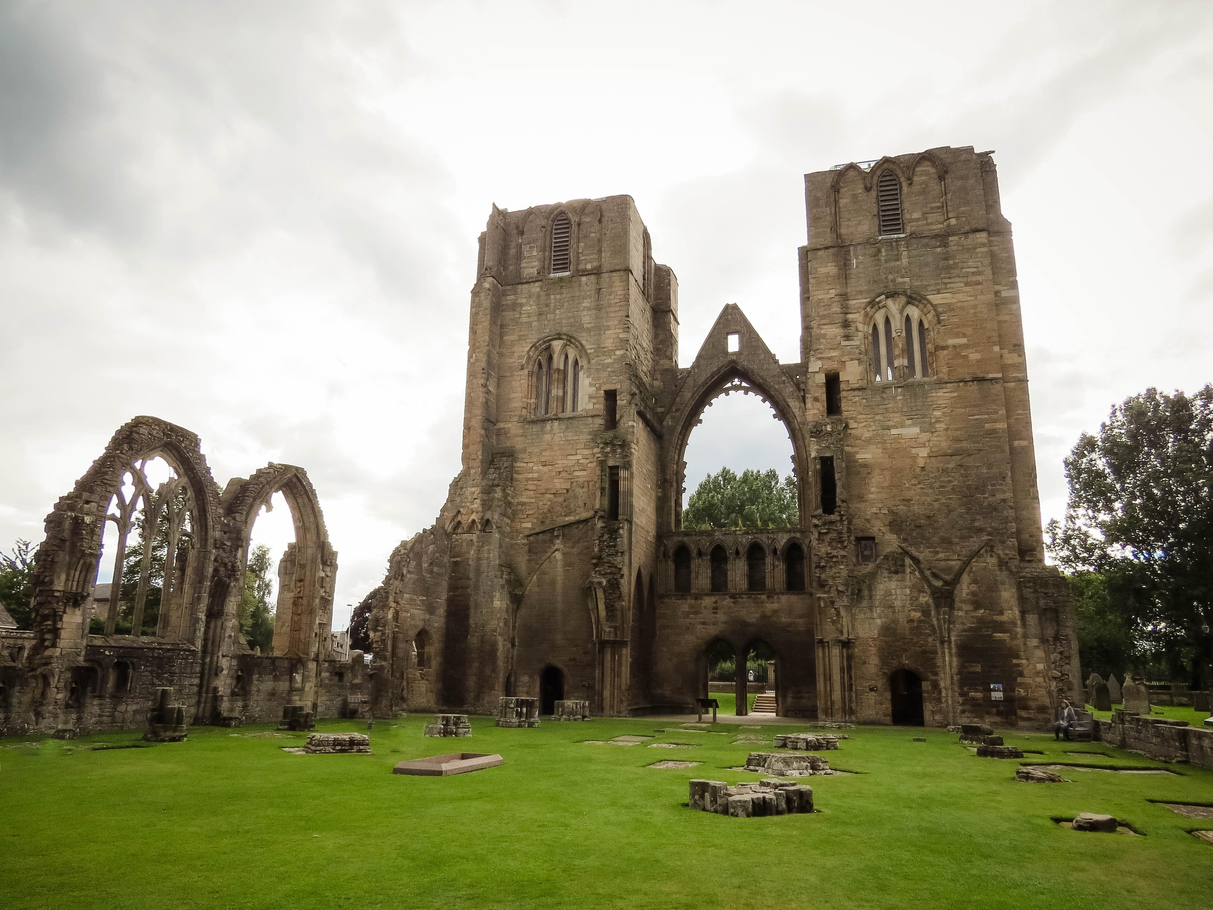 scozia - elgin cathedral
