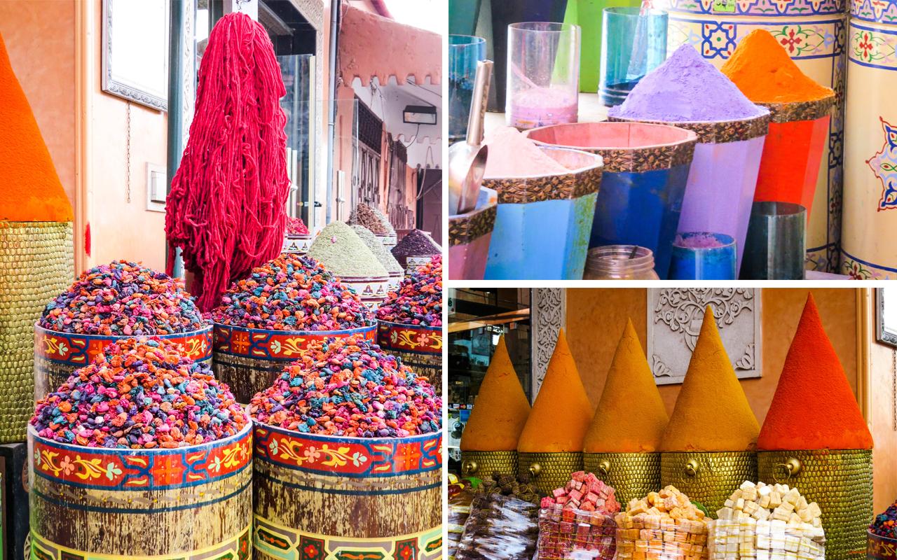 Marrakech - souk
