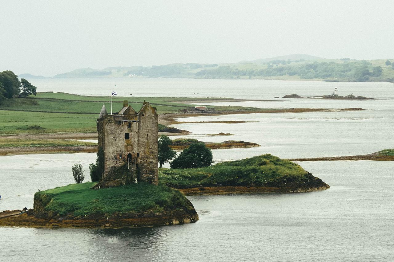 scozia castle stalker