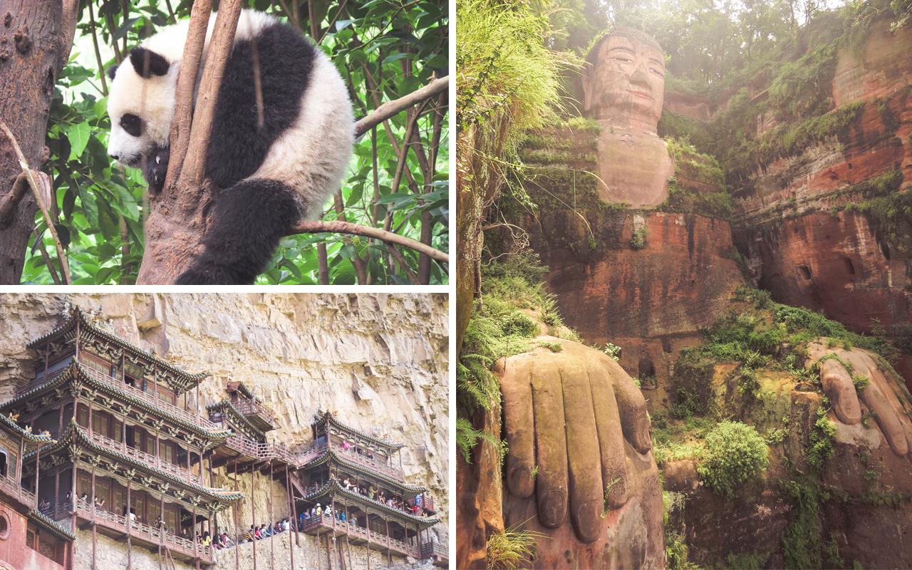 cina - panda - datong - leshan
