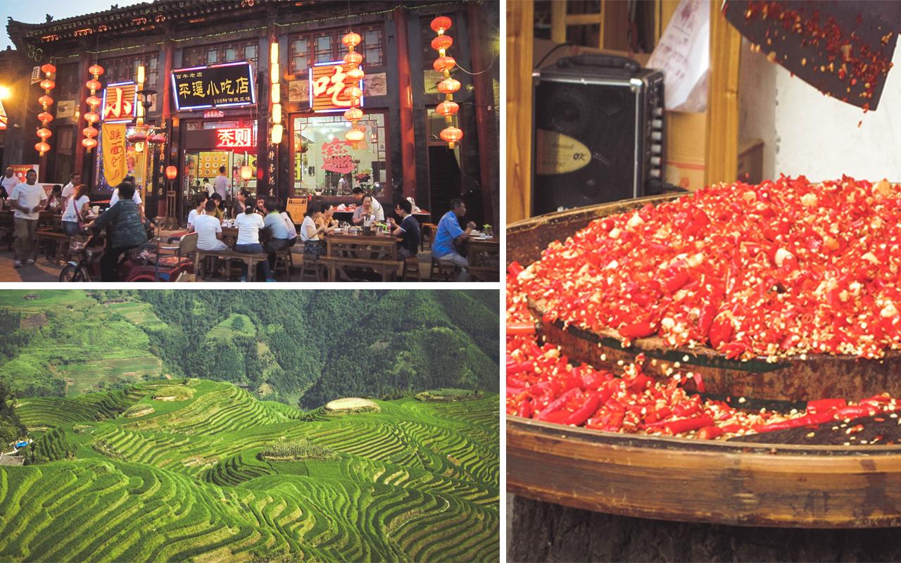 cina - pingyao - risaie - sichuan
