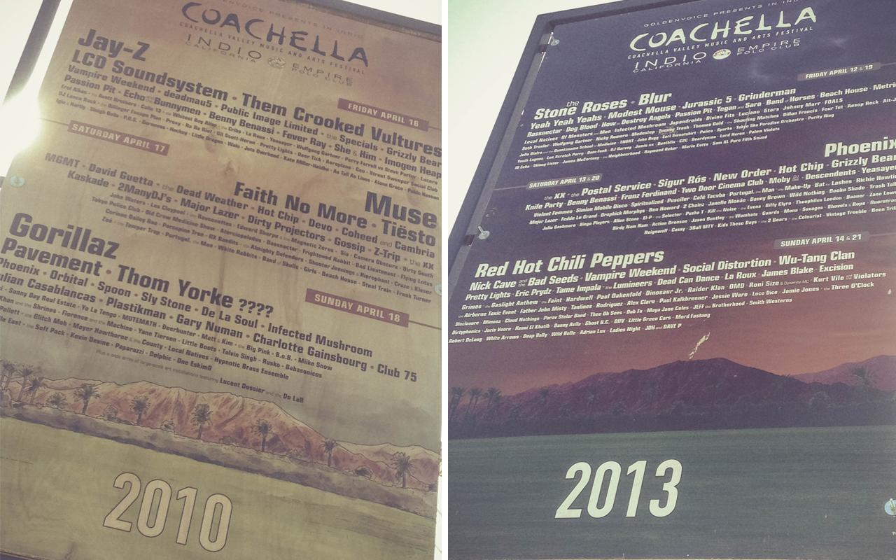 coachella - lineup