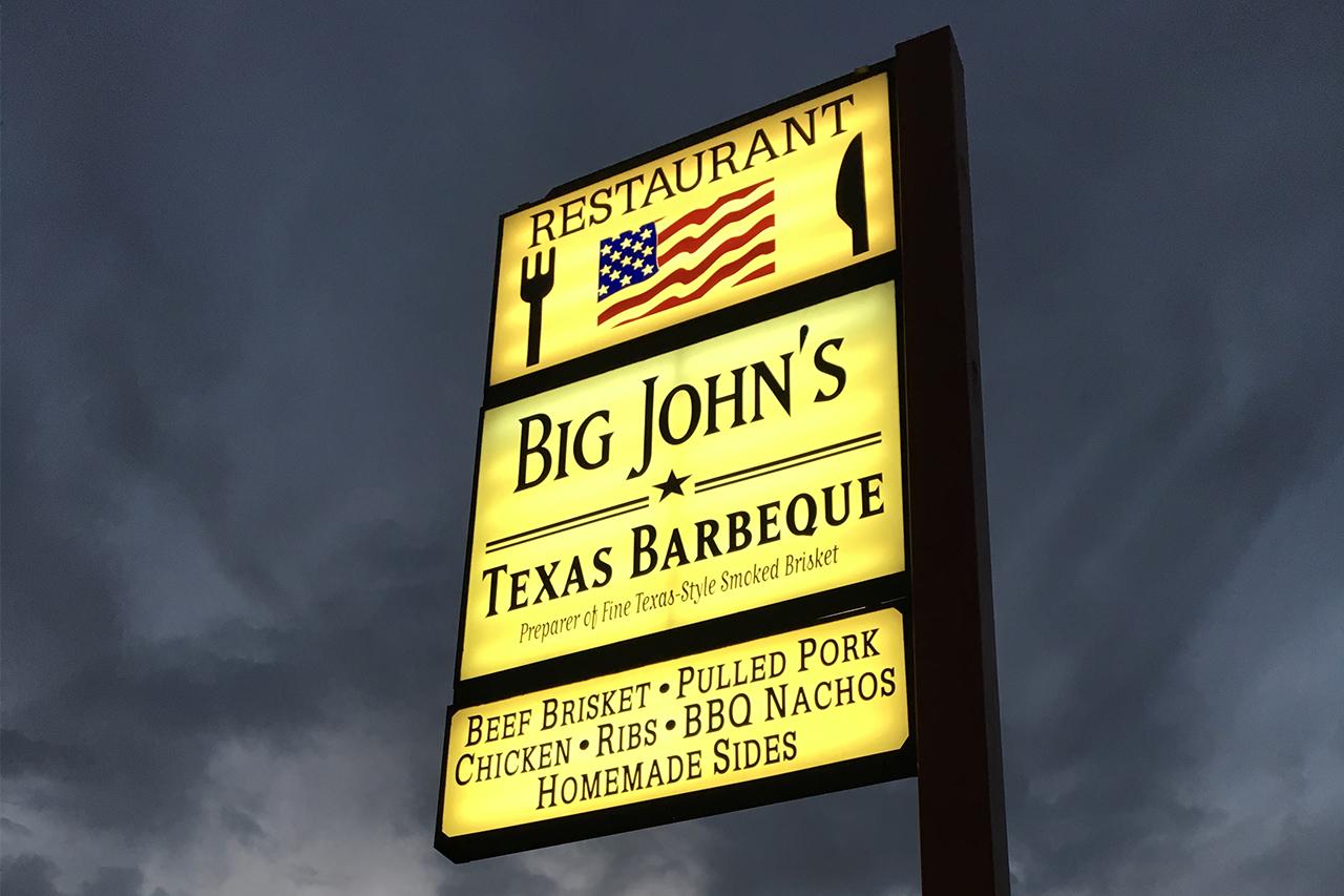 big john's texas bbq - page
