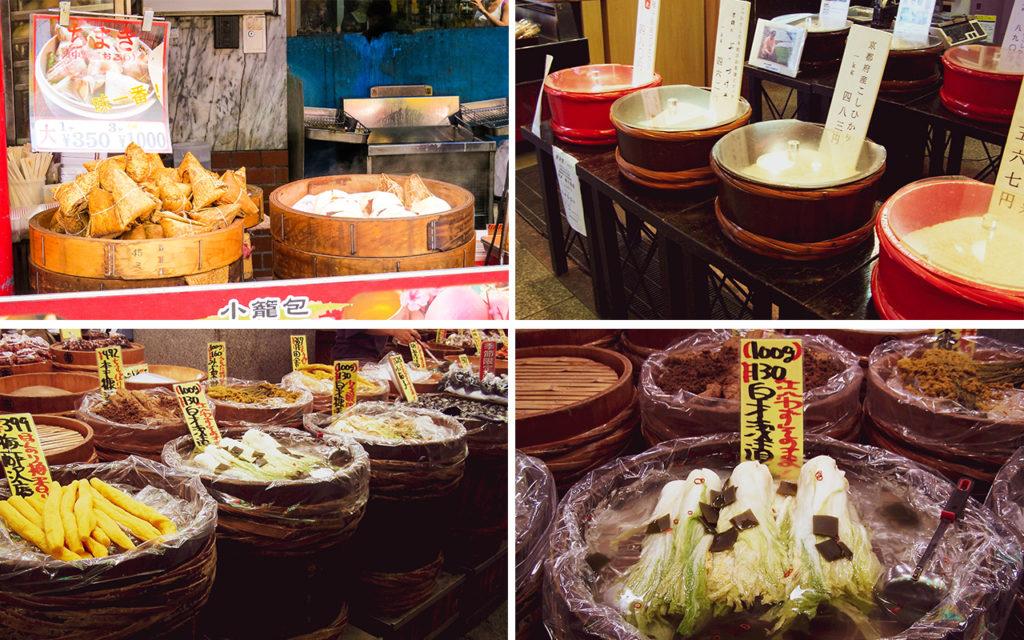 giappone - kyoto - nishiki market