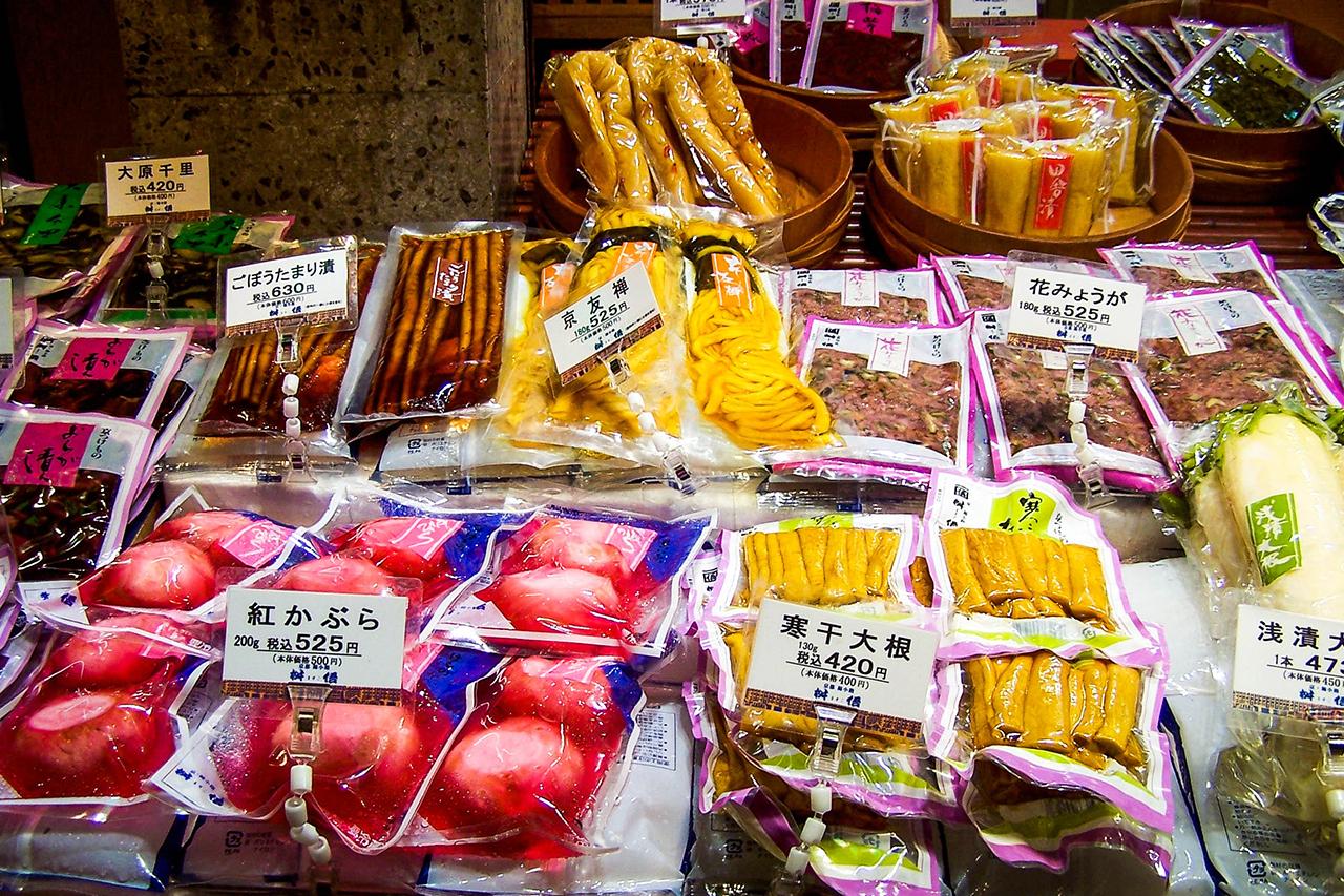 giappone - kyoto - mercato