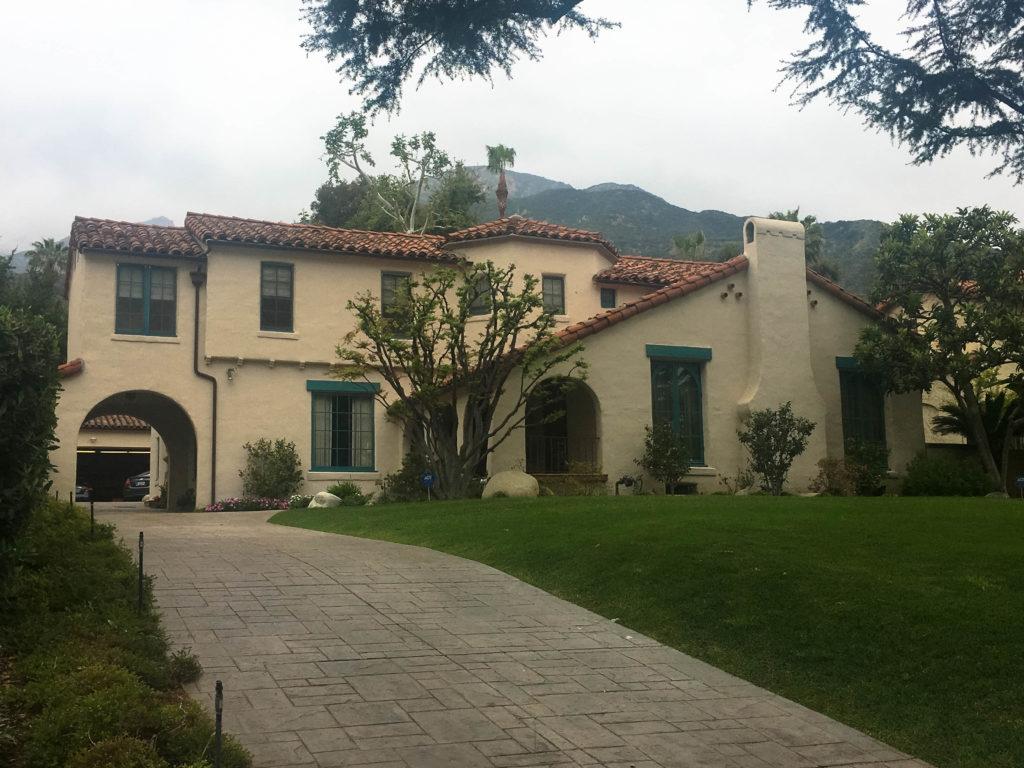 california - los angeles- altadena - la casa dei walsh