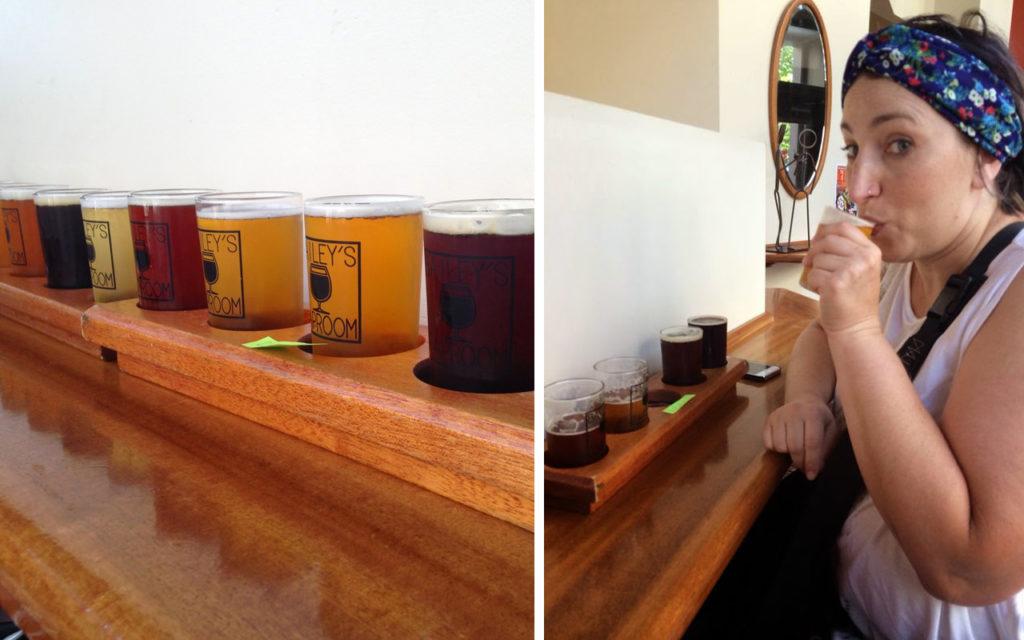 portland - beer tasting