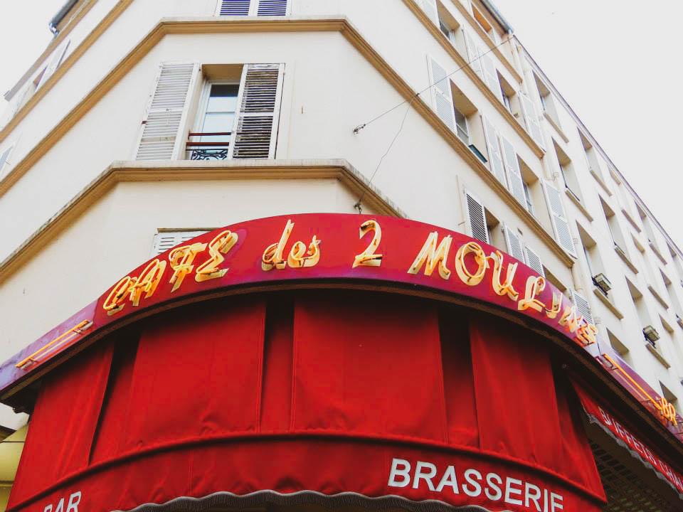 parigi - cafè des 2 moulins