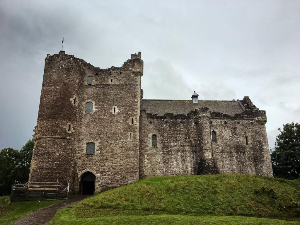 scozia - doune castle