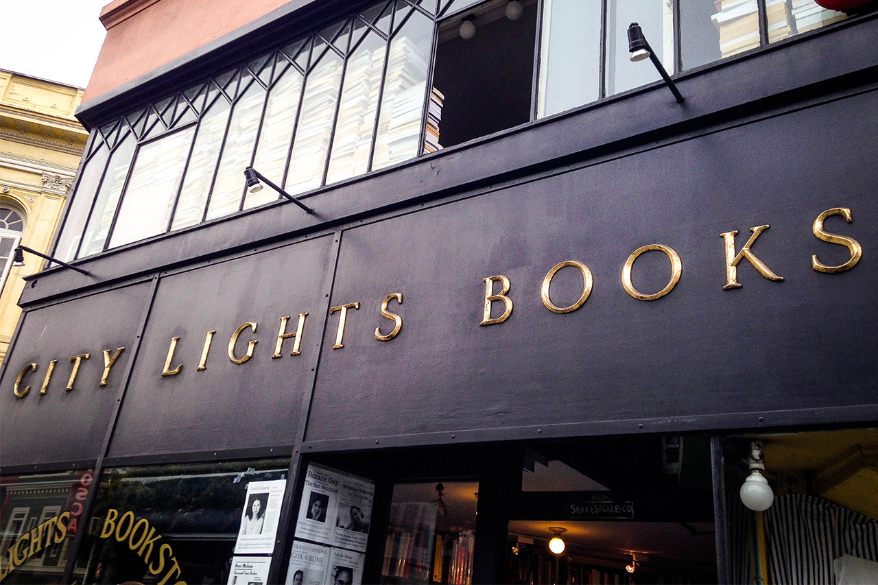 city light bookstore - san francisco